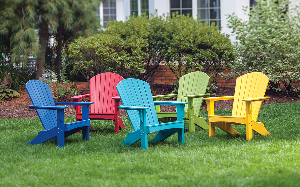 Adirondack chairs by Malibu Outdoor Living